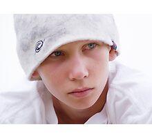 Unhappy James Photographic Print