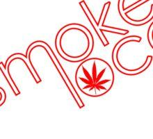 Smoke Local Weed in Alabama (AL) Sticker