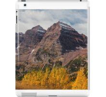 Maroon Bells  iPad Case/Skin