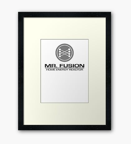 Mr. Fusion Framed Print