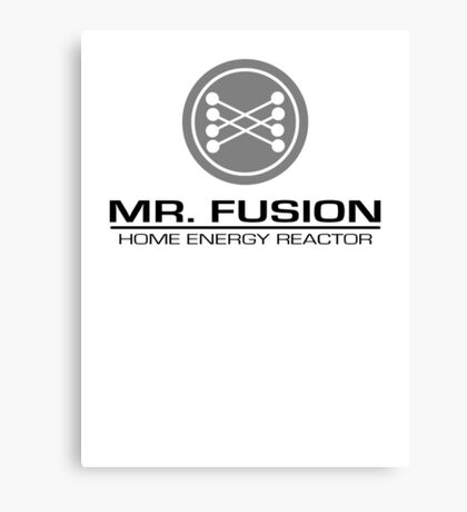 Mr. Fusion Canvas Print