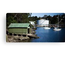 Boat Shed, Gore Cove, Sydney Harbour Canvas Print