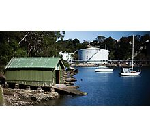 Boat Shed, Gore Cove, Sydney Harbour Photographic Print