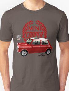 Classic 1990 Mini Cooper RSP red T-Shirt