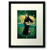 The Pencil Skirt Framed Print