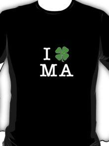 I (Club) MA (white letters) T-Shirt