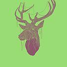 The Deer Head by creativepanic