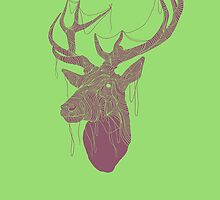 The Deer Head by creativepanic