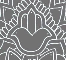 Hamsa: Grey Sticker
