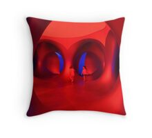 The Colour Red - Amococo Luminarium. Throw Pillow