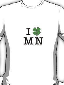 I (Club) MN (black letters) T-Shirt