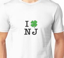 I (Club) NJ (black letters) Unisex T-Shirt