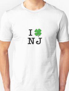 I (Club) NJ (black letters) T-Shirt