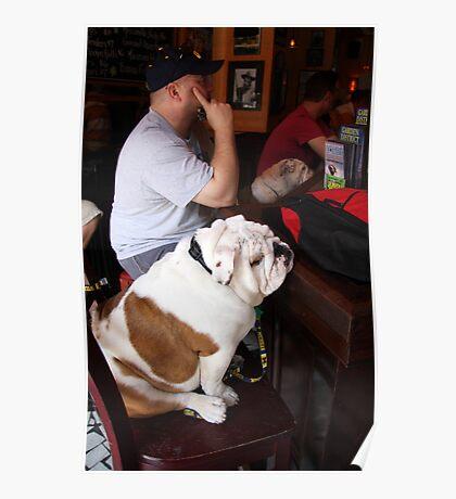 Bullies At The Bar Poster