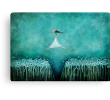 Leap of faith Canvas Print