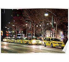 Taxi Rank Poster