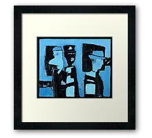 police station Framed Print