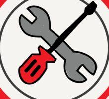 Built not bought tools Sticker