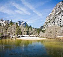 Merced River, Yosemite Valley by Philip Kearney