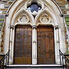 Copper Door - Scots Church by Akrotiri