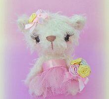 Handmade bears from Teddy Bear Orphans - Little Belle by Penny Bonser
