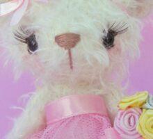 Handmade bears from Teddy Bear Orphans - Little Belle Sticker