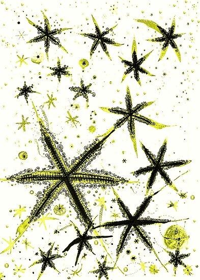 Paper Stars 4 by joancaronil