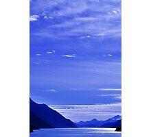 Lavender Landscape Photographic Print