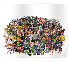 Amiga Game Characters Poster