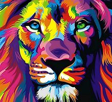 Lion  by Burstonco
