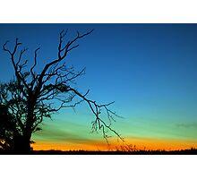 Layered Sunset  Photographic Print