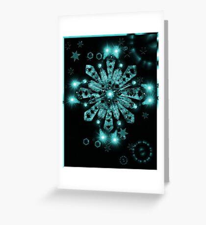 Star C Sensation 10 Greeting Card