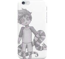 button boy and pillow snake iPhone Case/Skin
