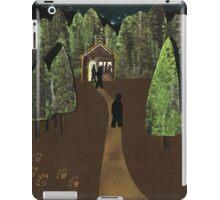Bear in the Woods iPad Case/Skin