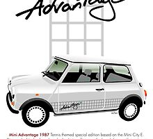 Classic 1987 Mini Advantage by car2oonz