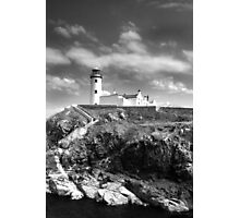 Fanad Head Lighthouse In Donegal, Ireland Photographic Print