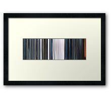 Moviebarcode: THX 1138 (1971) Framed Print