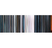Moviebarcode: THX 1138 (1971) Photographic Print