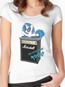My Little Pony Rocks Women's Fitted Scoop T-Shirt