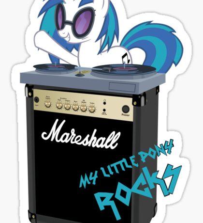 My Little Pony Rocks Sticker