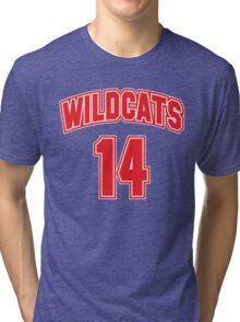Wildcats 14 Tri-blend T-Shirt