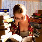 Book lover by Janette Anderson