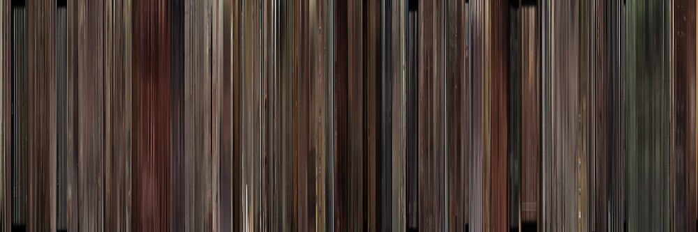 Moviebarcode: 500 Days of Summer (2009) by moviebarcode