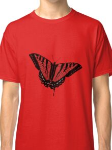 Butterfly - Red Classic T-Shirt