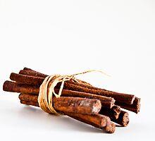 Cinnamon sticks by Janette Anderson