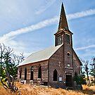 Locust Grove Church, Sherman County, Oregon USA by Bryan D. Spellman