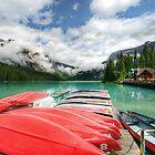 Emerald Lake by Thomas Plessis