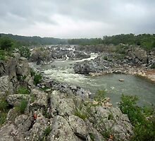 Great Falls Park, VA - my favorite path along the river by Bine