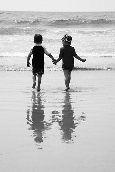 Little Boys, Great Mates by JCMPhotos