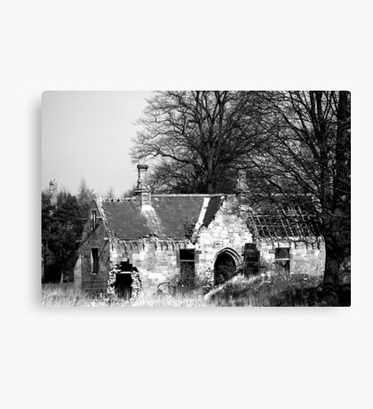 Derilict Chapel Canvas Print